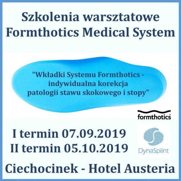 Jesienne Szkolenia warsztatowe Formthotics Medical System!
